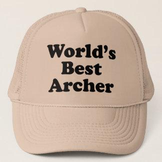 World's Best Archer Trucker Hat