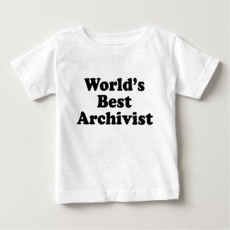 Worlds' Best Archivist Baby T-Shirt