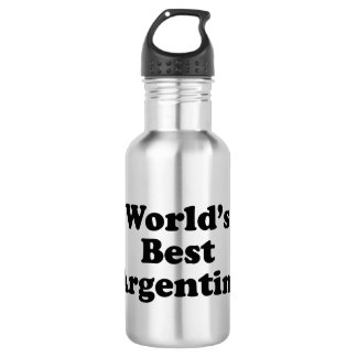 World's Best Argentine 532 Ml Water Bottle