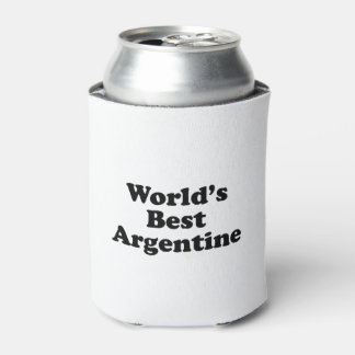 World's Best Argentine Can Cooler