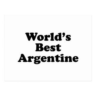 World's Best Argentine Postcard