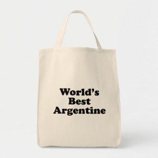 World's Best Argentine Tote Bag