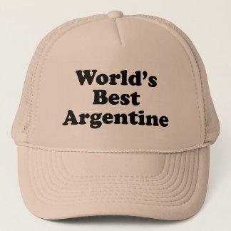 World's Best Argentine Trucker Hat