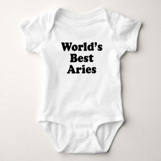 World's Best Aries Baby Bodysuit