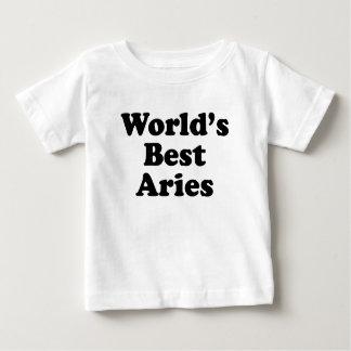 World's Best Aries Baby T-Shirt
