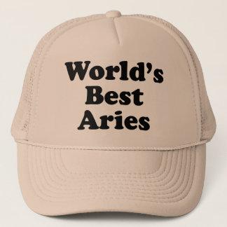 World's Best Aries Trucker Hat