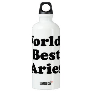 World's Best Aries Water Bottle