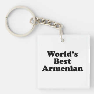 World's Best Armenian Keychain