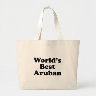 World's Best Aruban Large Tote Bag