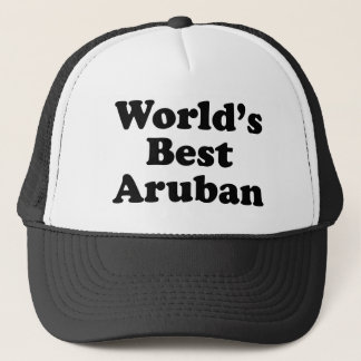 World's Best Aruban Trucker Hat