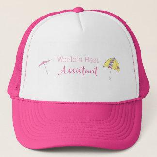 World's Best Assistant Trucker Hat