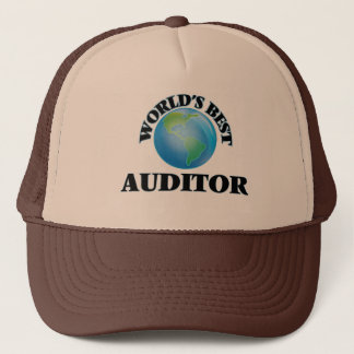 World's Best Auditor Trucker Hat