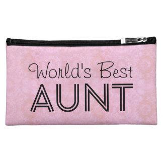 World's Best AUNT Family Appreciation Bag PINK