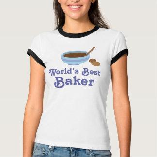 World's Best Baker Womens Tee