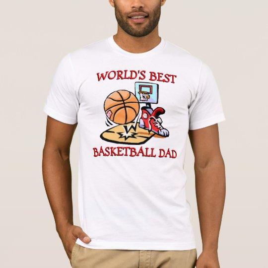 Worlds Best Basketball Dad T-Shirt