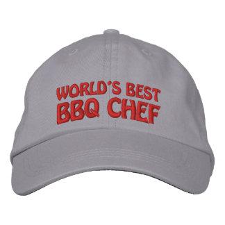Worlds Best BBQ Chef Embroidered Hat
