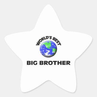 World's Best Big Brother Sticker