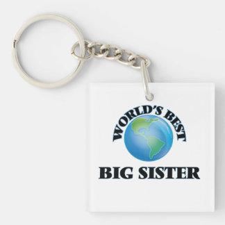 World's Best Big Sister Acrylic Keychain