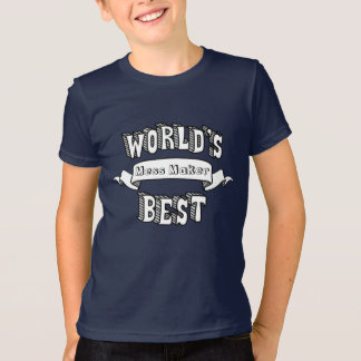 World's Best Blank Typography Text Kids Shirt