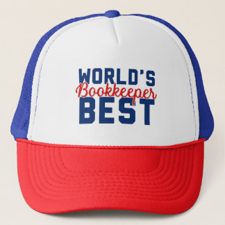 World's Best Bookkeeper Trucker Hat