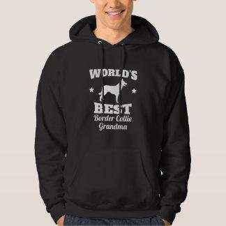 Worlds Best Border Collie Grandma Hoodie