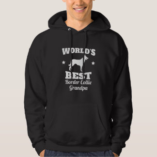 Worlds Best Border Collie Grandpa Hoodie
