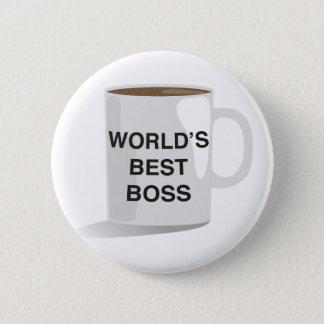 World's Best Boss 2 Inch Round Button