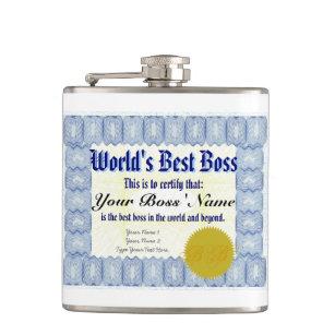 worlds best boss certificate