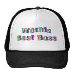 World's Best Boss Hat