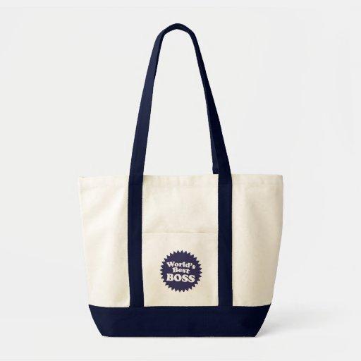 World's Best Boss Impulse Tote Bag