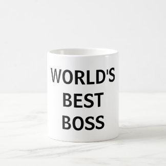 World's Best Boss Office Mug