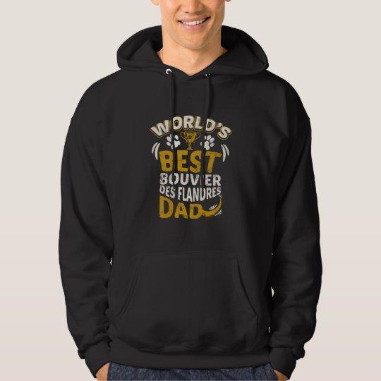 World's Best Bouvier des Flandres Dad Graphic Hoodie