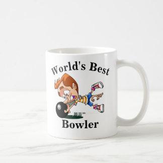World's Best Bowler Coffee Mug