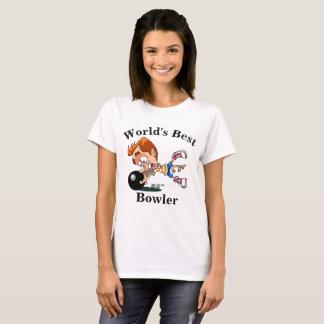 World's Best Bowler T-Shirt