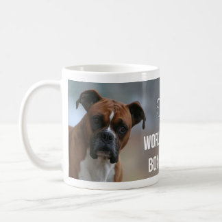 """World's Best Boxer Mom"" Personalized Coffee Mug"