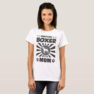 WORLD'S BEST BOXER MOM T-Shirt