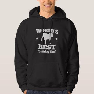 Worlds Best Bulldog Dad Hoodie