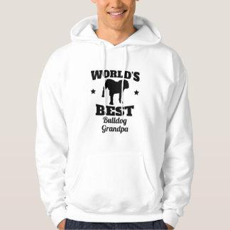 Worlds Best Bulldog Grandpa Hoodie