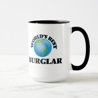 World's Best Burglar Mug