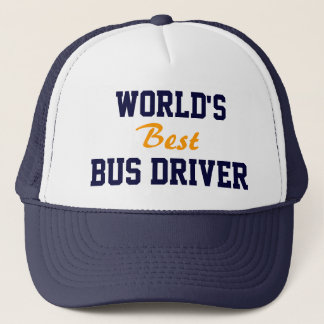 World's best bus driver cap