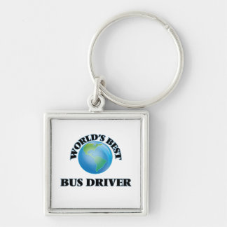 World's Best Bus Driver Key Chains