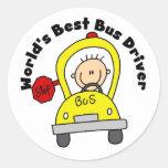 World's Best Bus Driver Stickers