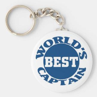 World's Best Captain Key Chain