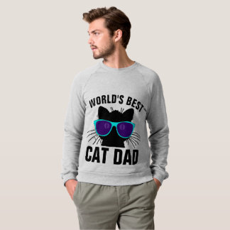 WORLD'S BEST CAT DAD, T-shirts