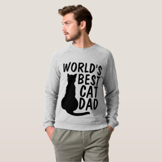 WORLD'S BEST CAT DAD, T-shirts & sweatshirts