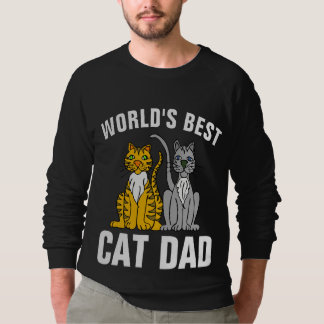 WORLD'S BEST CAT DAD t-shirts & sweatshirts