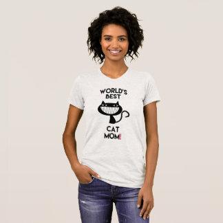 World's best cat mom! Fun T-Shirt