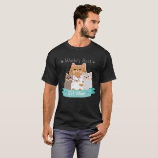World's Best Cat Mom Funny T-Shirt