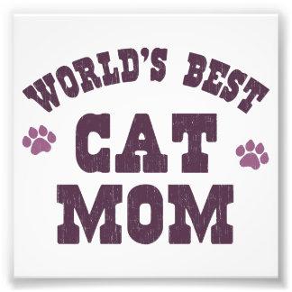 World's Best Cat Mom Photograph