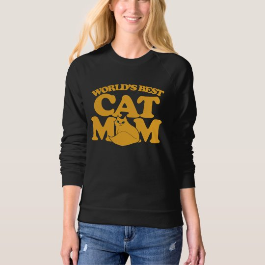 World's Best Cat mom Sweatshirt